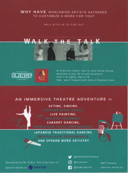 AM walk the talk